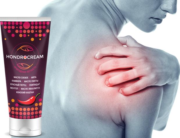 Hondrocream при болезнях суставов