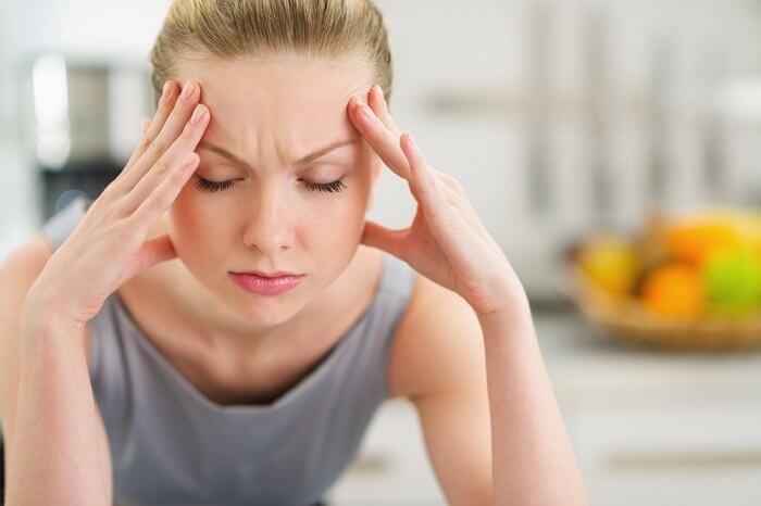 Внутричерепное давление у женщины