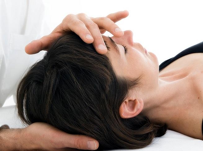 Массаж головы при ВЧД