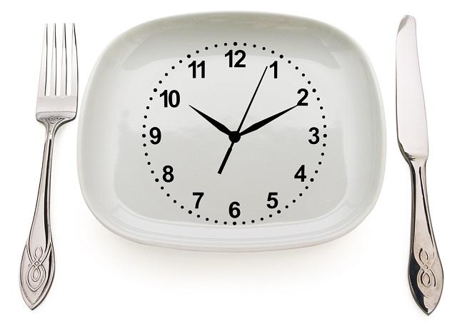 Необходимо питаться каждые 3-4 часа