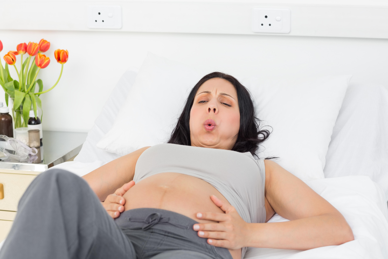 Проблемы дыхания при беременности