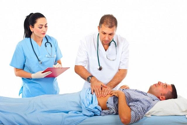 Диагностика гастрита методом пальпации
