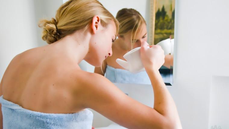 Как вылечить гайморит без прокола: на фото - промывание