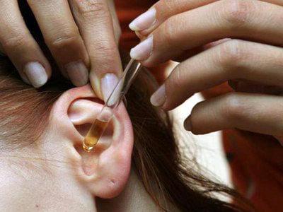 Отит уха: лечение борной кислотой