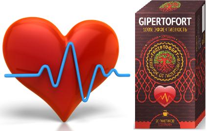 Средство против гипертонии Гипертофорт