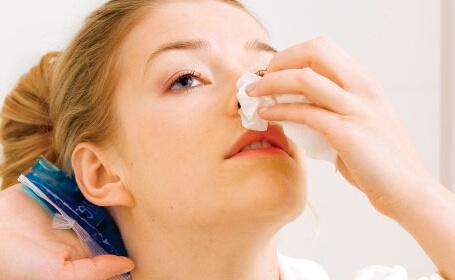 Причины носового кровотечения у взрослых