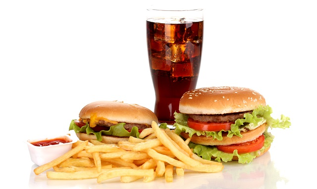 Жареная и жирная пища способствует развитию гастрита