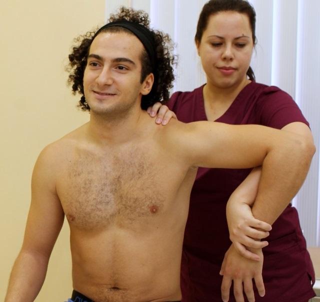 Диагностика плечелопаточного периартрита